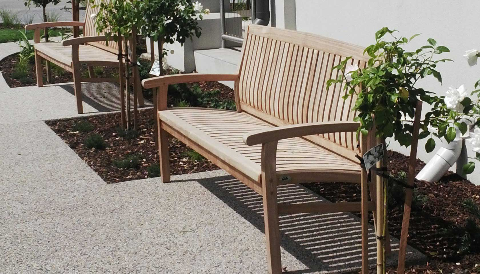 Lister Teak Garden Furniture - Teak Benches, Loungers ...